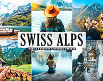 Free Swiss Alps Mobile & Desktop Lightroom Presets