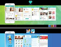 UI/UX Design for a Mobile Platform