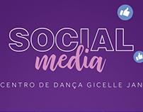 Social Media Gicelle Jan Centro de Dança