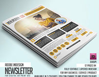 MAGNITO Newsletter - Shocking Indesign Template