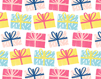 Colourful Presents Pattern