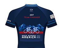 Race Across America Finisher Jersey 2017