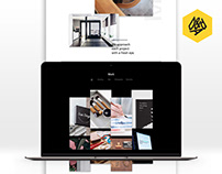 Squarespace Template Concept D&AD Winner