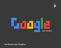TOP BRANDS LOGO PIXELATION - Part 01
