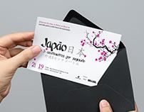 """Projeto Convite """"Exposição do Japão no CCBB"""""""