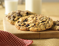Plum Dandy Cookies & Milk Identity