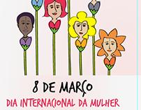 Dia internacional da mulher - Campanha digital