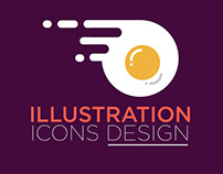 illustration icons design   Flat icons   Daily UI