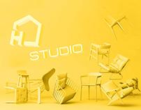H Studio- Brand Identity