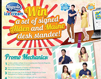 Magnolia Ice Cream Aldub Social Media Ads