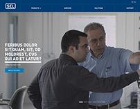 SEL Website Design Concept