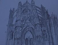 Beauvais (drawings/kresby)