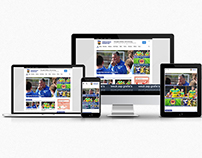 Waltham Forest FC website redesign