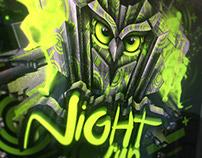 Night Run - Illustrations