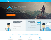 "Website Design - ""New North"""