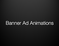Web Banner Animations