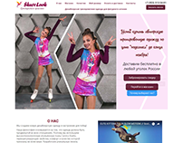 Дизайн сайта по продаже тренировочной одежды