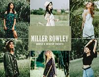 Free Miller Rowley Mobile & Desktop Lightroom Presets