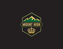 Mount High Branding design