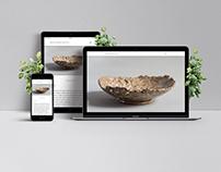 Diana Ambida Ceramics landing page