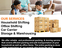 Safe Transportation & Packing With Us