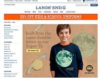 Lands' End Internet Creative Internship