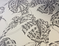 Kew Palm House | Wallpaper Design | Work in Progress