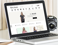 Chic e Elegante - Interface de E-commerce
