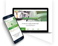 Website LacneVozenie.sk