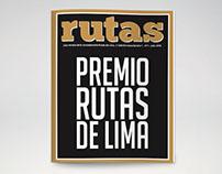 """Magazine """"Premio Rutas de Lima"""""""