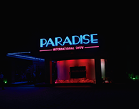 PARADISE CABARET - LOGOTYPE