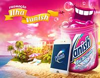 Promoção Ilha Vanish