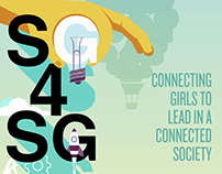 STEM Girls 4 Social Good | Poster Design