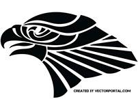 Eagle vector image.