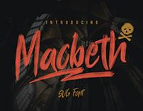 Macbeth Typeface - SVG Font