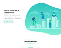 Landing Page Design :: Daily UI 003