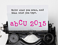 abCU 2015 Exhibition Poster
