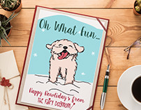 The Fairydog Mom Christmas Cards