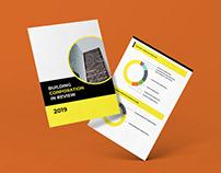Building Corporation Report design