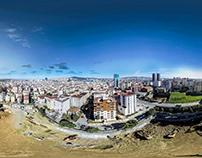 Scon Yapı Havadan 360 Panorama Kat Manzarası Çekimi