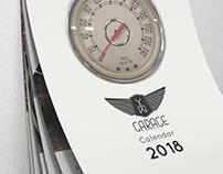 Garage Athens Annual Calendar 2018