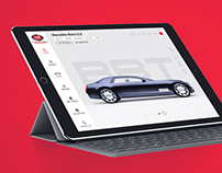 Bugatti Soprts Car Manufacturer Web UI/UX