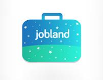 Jobland - Iphone App Identity
