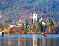 Slovenia camera spot photo collection