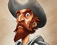 Speed Drawing - El Quijote