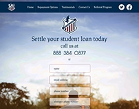 webpage for national student loan service