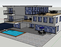 SketchUp House Design