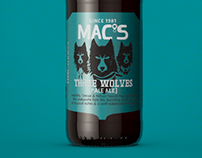 Mac's Beer - Three Wolves