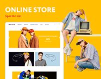 SQUAT LIKE SLAV | e-commerce online store
