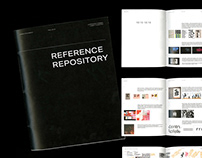 """Reference Repository"" Capstone Project Journaling"